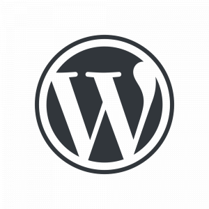 WordPress logotype wmark 1